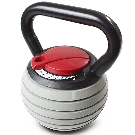 Titan Fitness Adjustable Kettlebell On White Background