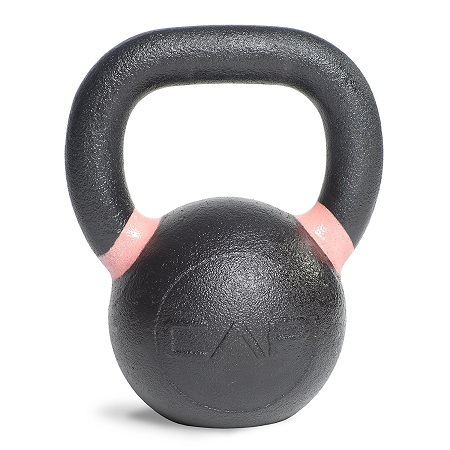 CAP Barbell Cast Iron Kettlebell On White Background