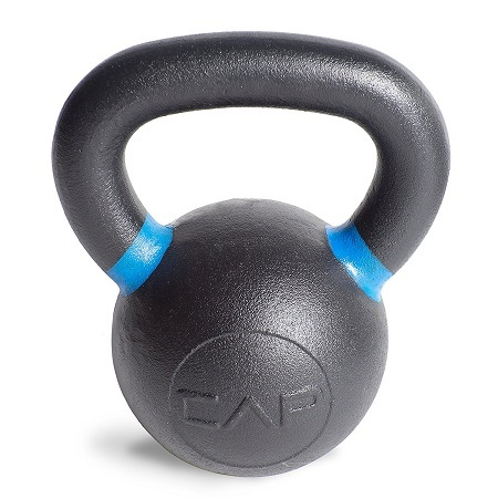 Black And Blue CAP Barbell Kettlebell