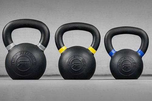 Different Color Kettlebells