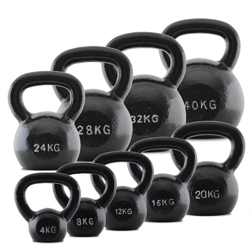 Different Kettlebell Weights
