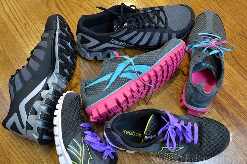 Bunch of Shoes Good For Kettlebell Training