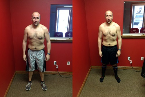 Man Posing After Kettlebell Workout