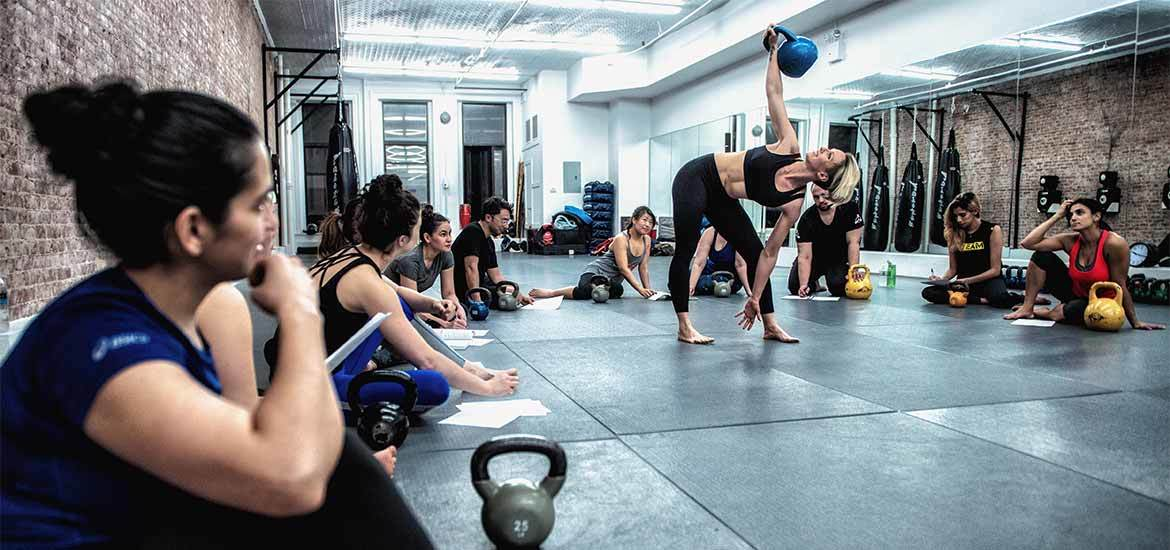 Kettlebell Kickboxing Certification