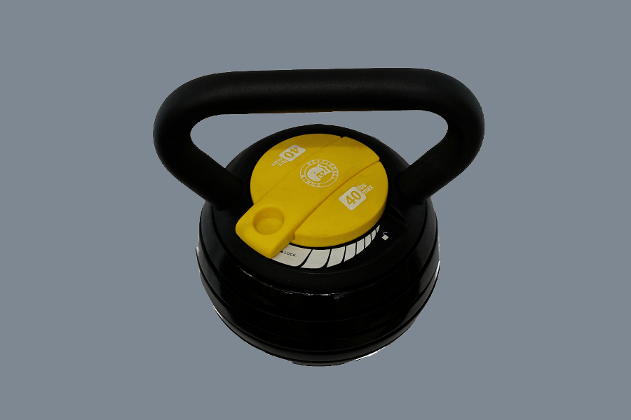Kettlebell Kings Black Adjustable Kettlebell Weights And Kettlebell Set