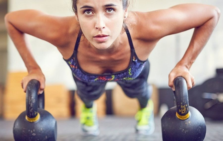 Get The Guns With The Best Kettlebell Workout For Arms